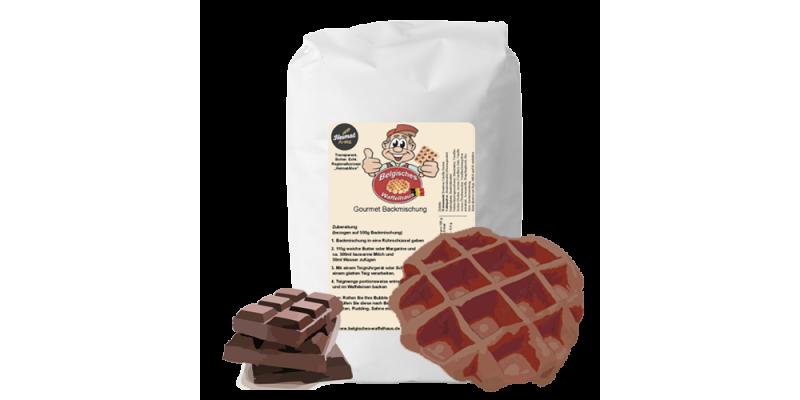 Lütticher Kakao-Waffel