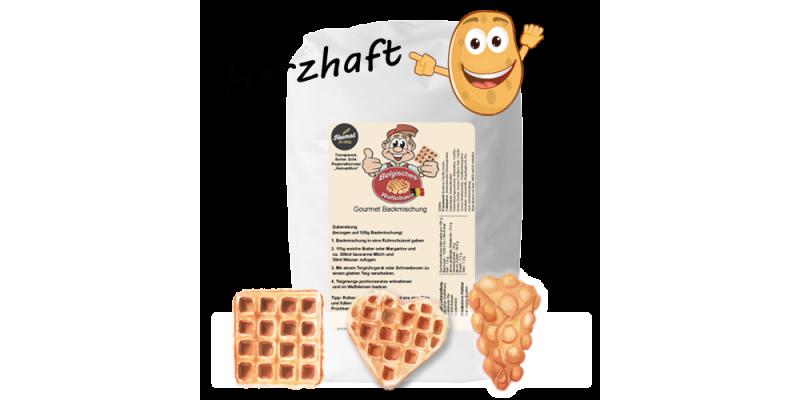 Belgische Kartoffelwaffel