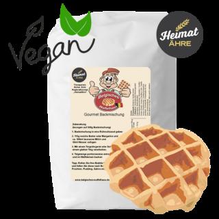 Gourmet Backmischung  Vegane Lütticher Waffel